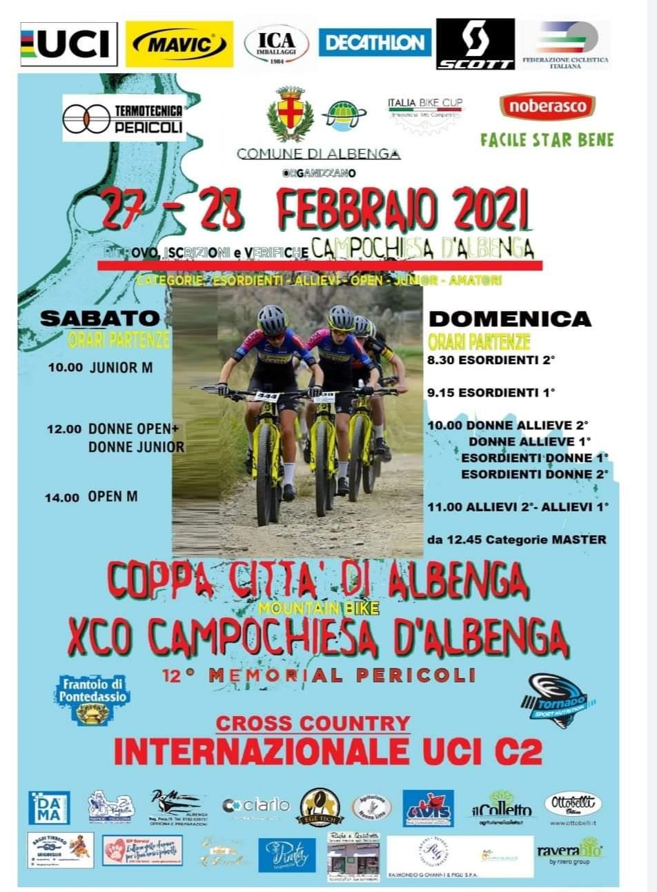 locandina gara crosscountry a campochiesa di Albenga